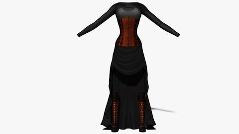 Steampunk Female Costume
