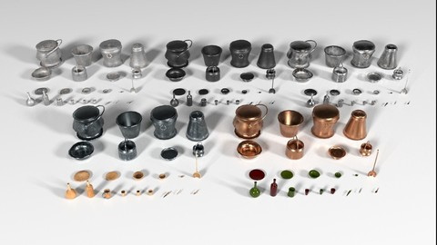 Kitchen Utensils Pack - The Marquis Collection