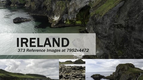 IRELAND MOUNTAINS AND LANDSCAPES