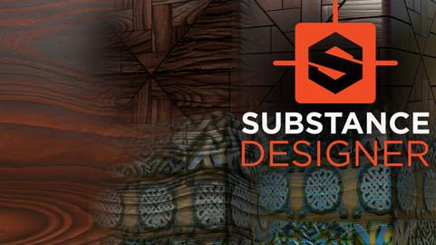 Substance Designer - Wood, Wood Floors & Wood Carving