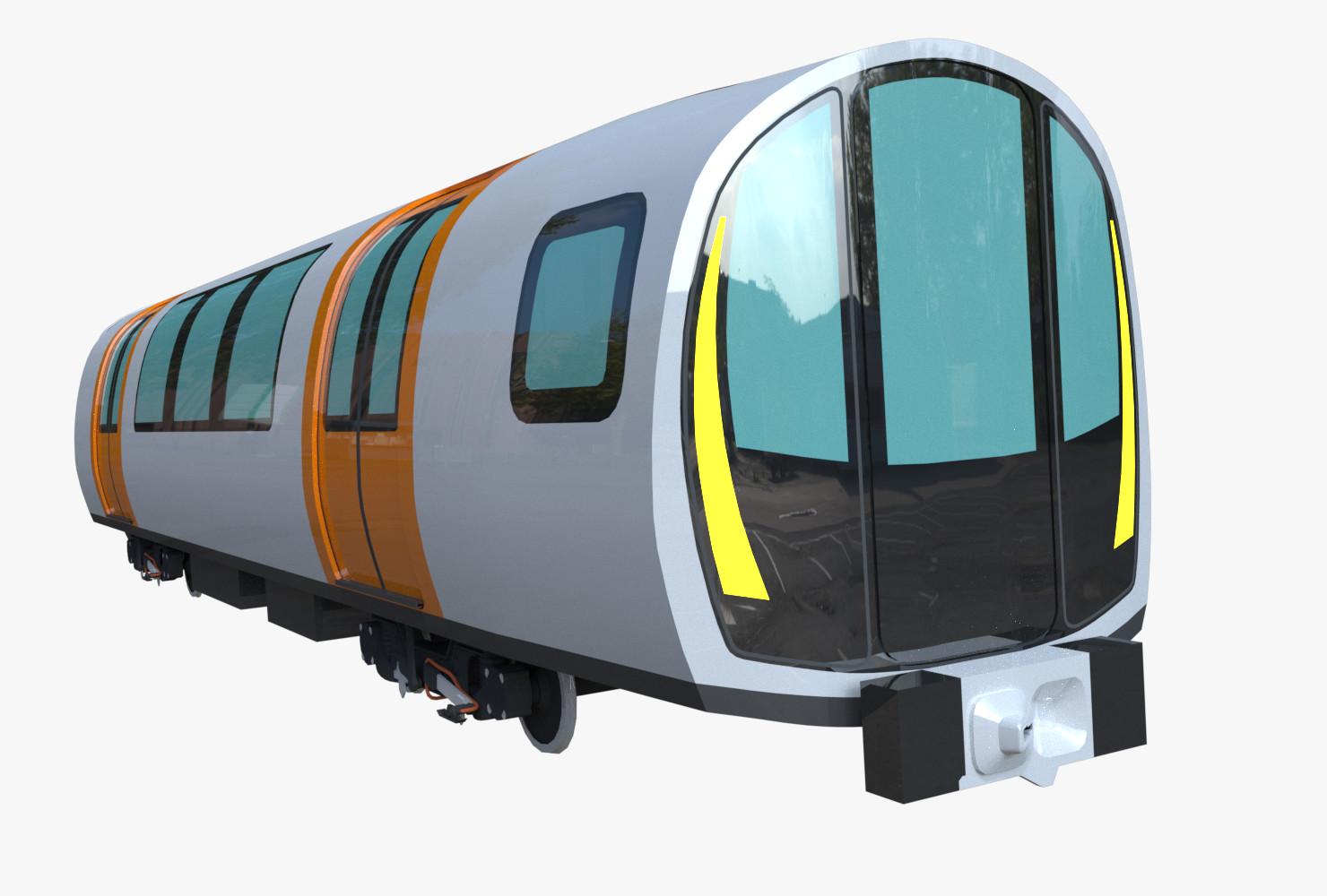 Pavel Frumert - Modern subway cars