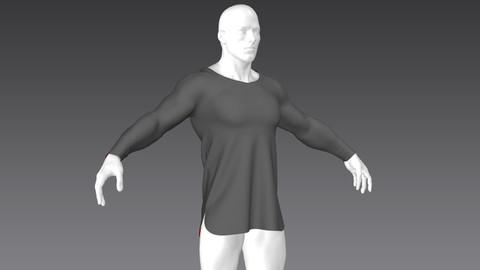Clothes for Marvelous Designer: Shirt