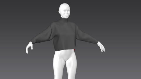 Clothes for Marvelous Designer: Pullover