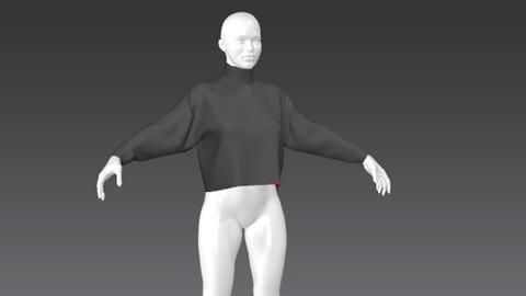 Clothes for Marvelous Designer: Pullover