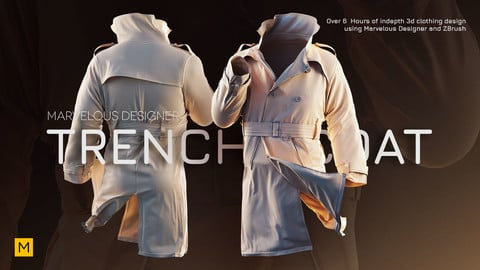 Marvelous Designer Creating a Trench Coat