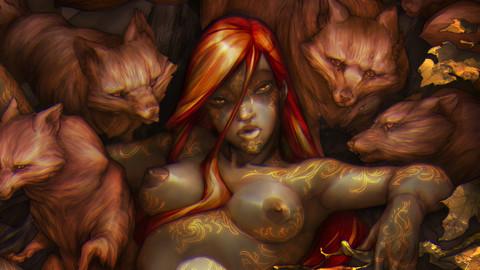 Beauties & the Beast - FULL ARTWORK (PSD - JPG HD Included)