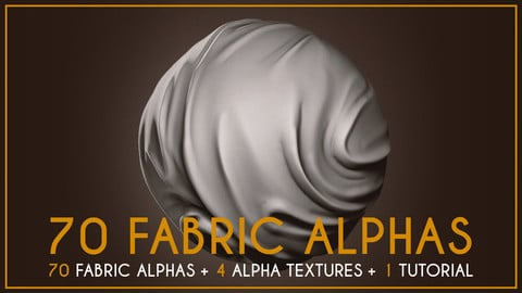 70 Fabric Alphas and Texture