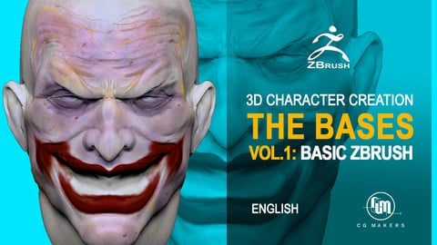 Basic Course Zbrush Vol 1: Hero Anatomy