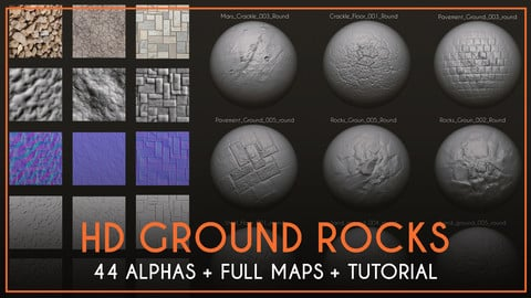 HD Ground Rocks #1