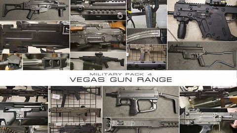 Military Pack 4: Vegas Gun Range