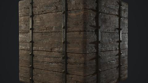 Medieval Wood Substance .sbs .sbsar