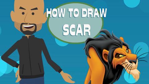 How To Draw Scar