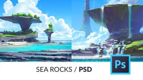 Sea Rocks PSD