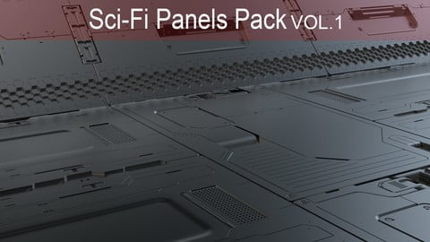 Sci-Fi Panels Pack vol 01