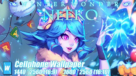 League of Legends WinterWoner Neeko WallPaper (Cellphone)