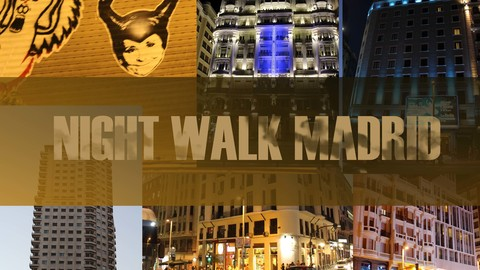 PHOTO PACKS:  NIGHT WALK MADRID + BLUE BLUE SKY