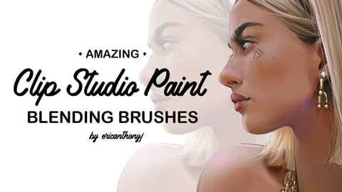 Clip Studio Paint Blending Brushes
