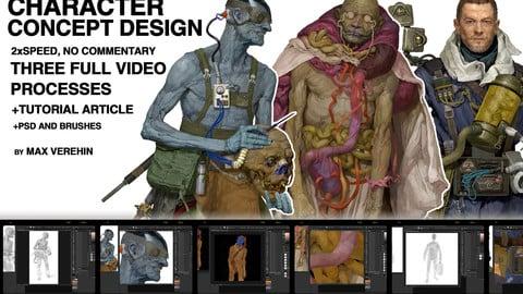 Concept design tutorial MEGA_pack.