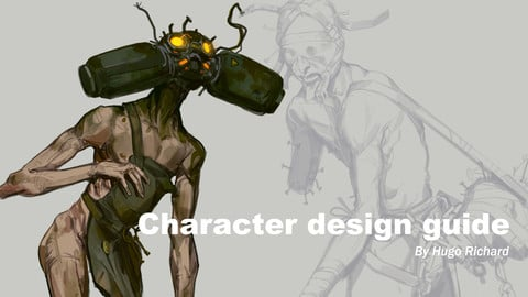 Character design Guide _by Hugo richard