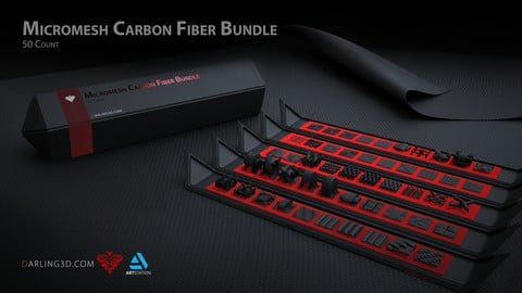 Micromesh Carbon Fiber Bundle 50 Count