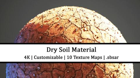 Dry Soil | 4k Substance Material