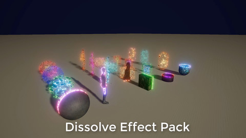 Dissolve Effect Pack for Unity 2018.3.0f2 HDR Shader Graph
