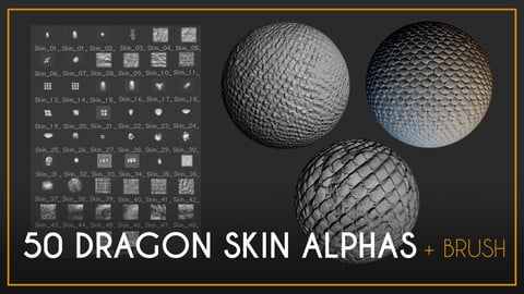 50 Alphas Dragon Skin