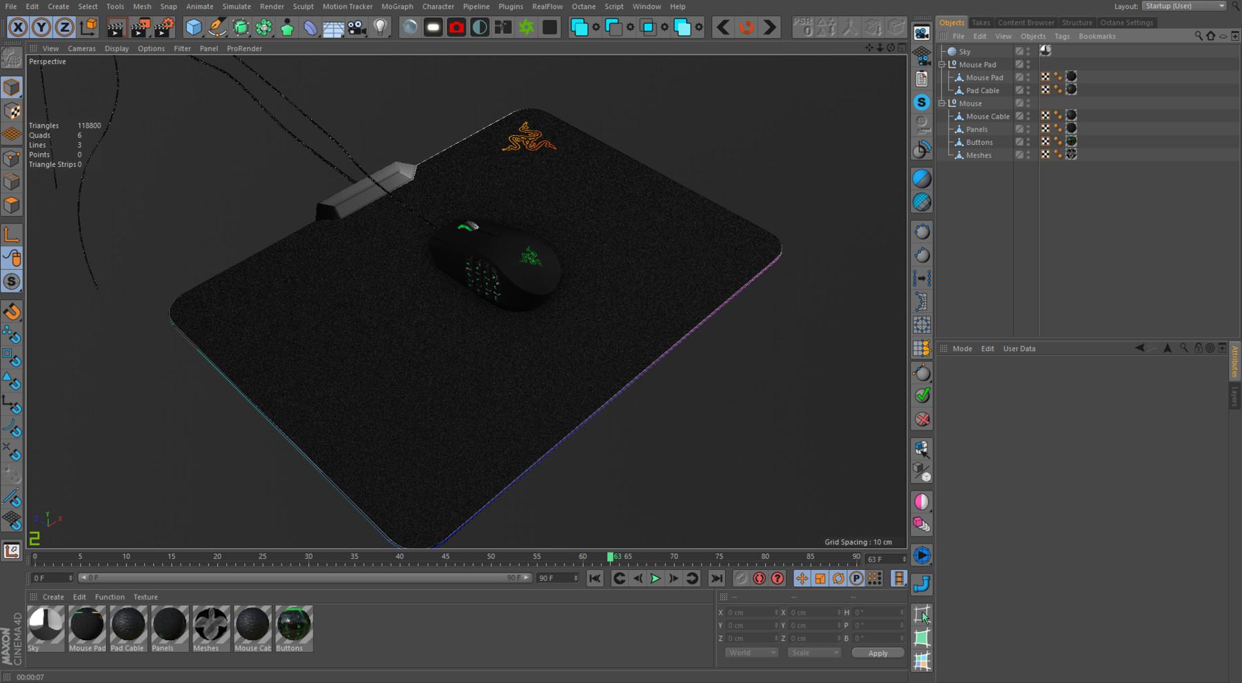 Velislav Slavov - Razer Naga Chroma Firefly RGB Gaming