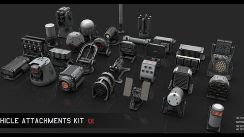 Vehicle attachments kit - 1
