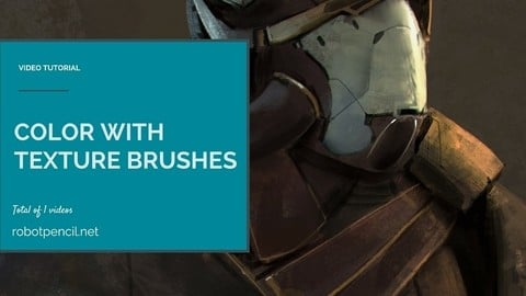 Color with Texture Brushes