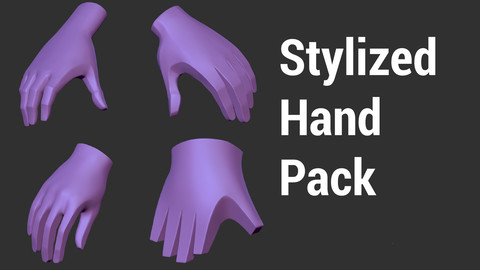 Stylized hands pack