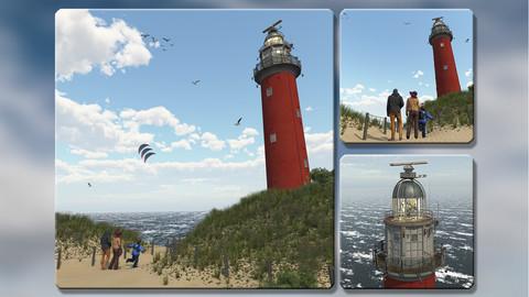 Light Tower The Koog (Texel, The Netherlands)