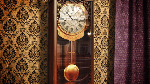 Classic Wall Clock by GMLAB