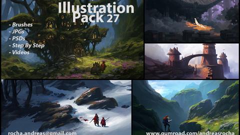 Illustration Pack 27 (not a stock asset)