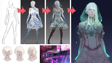 Cyberpunk Concept Process