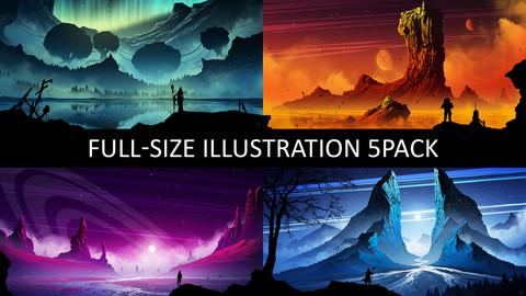 Full-size ILLUSTRATION 5PACK
