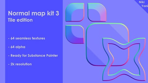 Normal map kit 3 Tile edition