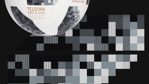Telstar 18 Panel Pattern texture