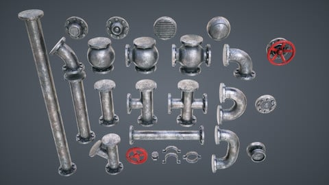 Modular Pipes for games
