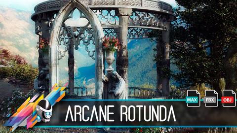 Arcane Rotunda 3D Model
