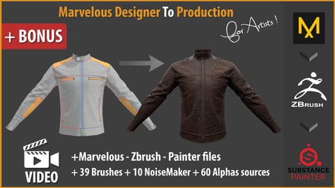 Marvelous Designer To Production for artists !
