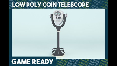 Coin Telescope - Low Poly