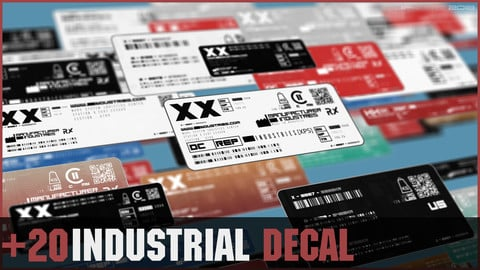 +20 INDUSTRIAL DECAL