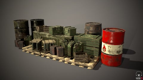 Crates and Barrels WW2 Style Volume 1