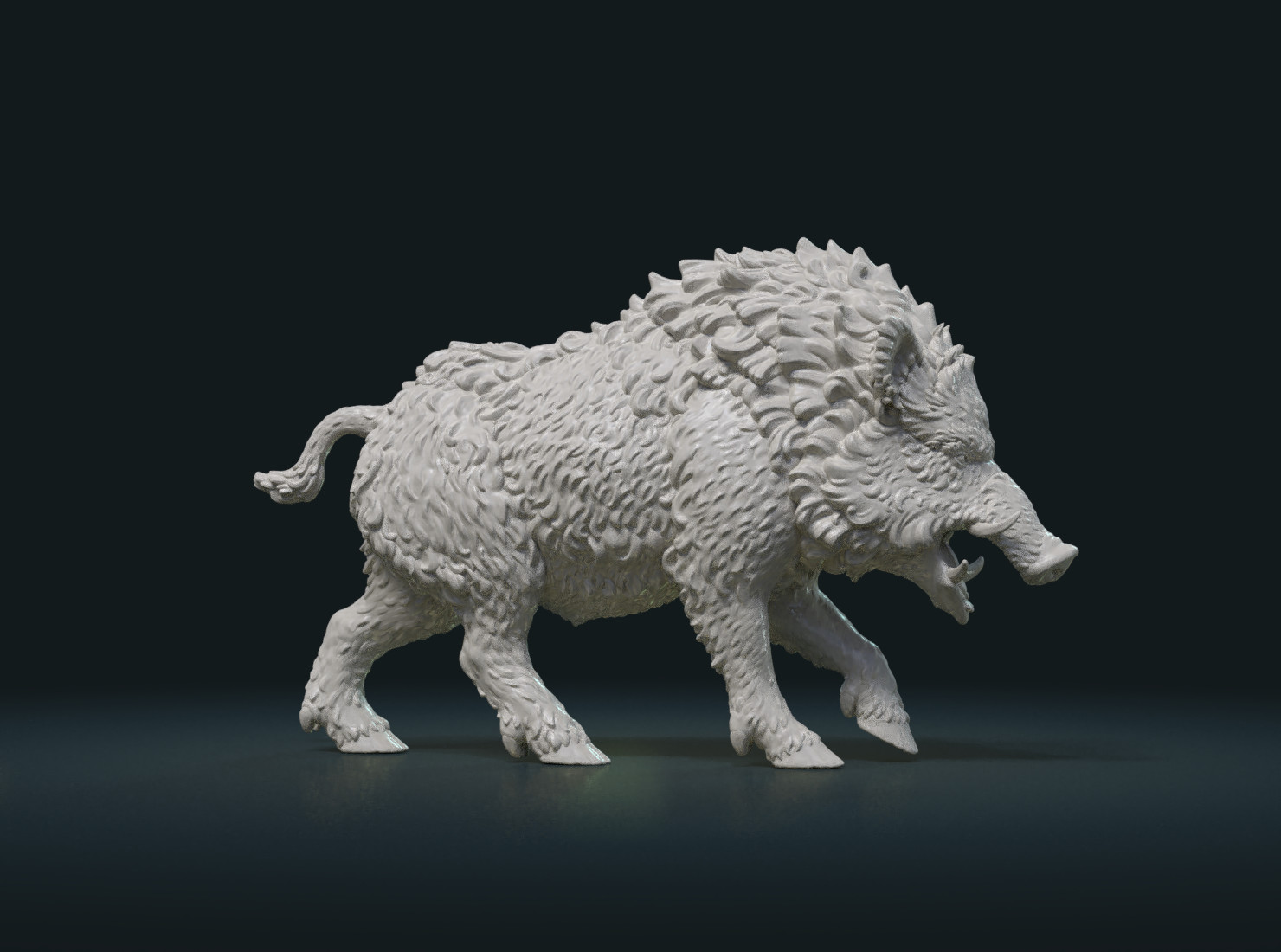 Artstation Wild Boar Figure Resources
