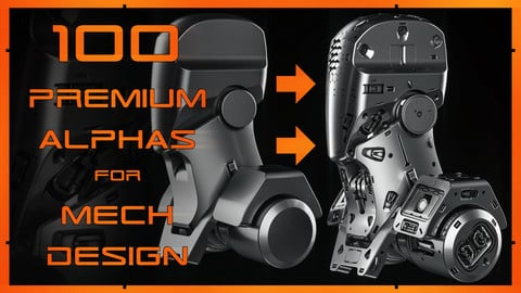 100 PREMIUM Alphas For Mech Design