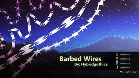 Barbed Wires Brushes.
