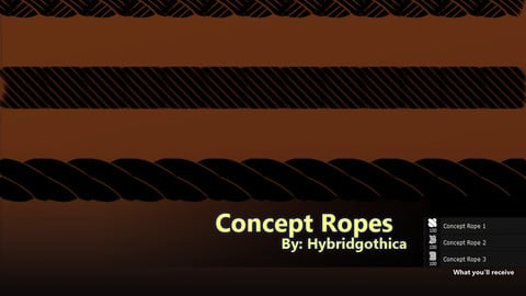 Concept Rope Brushes.