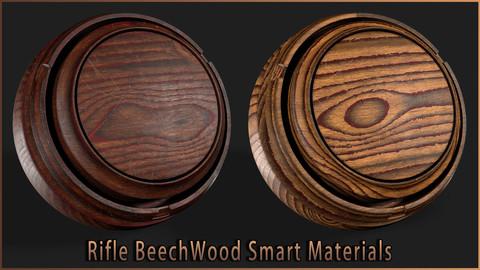Procedural BeechWood materials