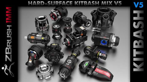 Kitbash Hard-Surface Mix V5